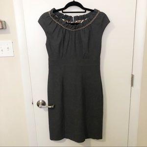 Gray Donna Ricco dress